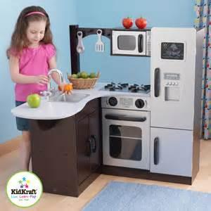 kidkraft corner kitchen kidkraft modern espresso corner kitchen in canada