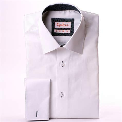 pattern french cuff shirts white french cuff shirt with grey patterns collar and cuffs
