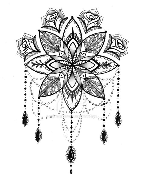 lotus flower mandala tattoo mandala lotus flower flowers ideas for review