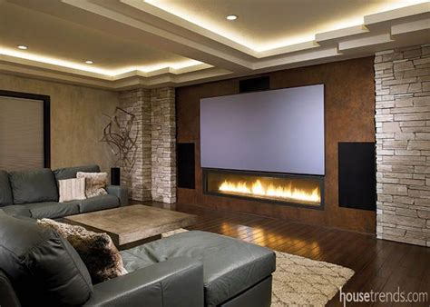 basement remodel  social butterfly home theater rooms