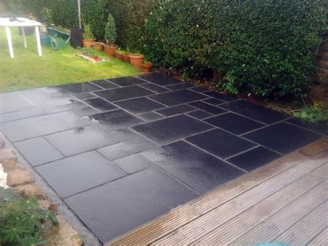 Slate Pavers For Patio 17 Best Images About Garden Slate Patio On Gardens Slate Pavers And Garden Paving