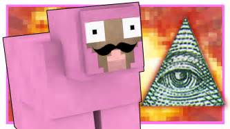 p nk illuminati pink sheep joins the illuminati minecraft parkour