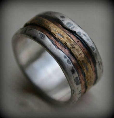 Handmade Mens Ring - 5 ways to discover men s wedding rings on etsy handmadeology