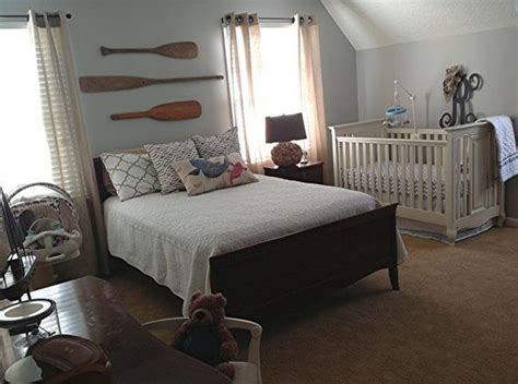 Parents Bedroom Design Nursery With Parents My Nest Paddles Quartos And Colors