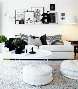 wohnzimmer deko schwarz weiss schwarz wei 223 in streifen der kontrast der immer im