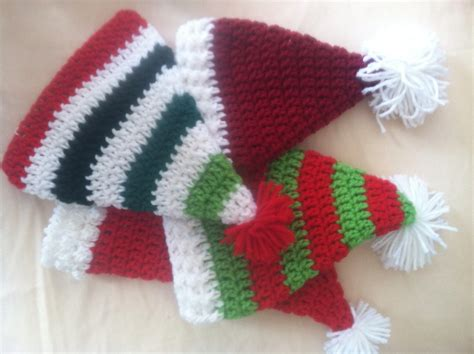 pattern for father christmas hat santa hats crochet free pattern family bugs crochet designs