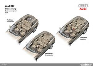 Audi Q7 Seats How Many The Audi Q7 Interior Audiworld