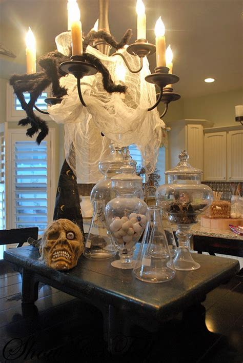 spooky halloween creepy kitchen decorations making the most haunted room at home mykitcheninterior