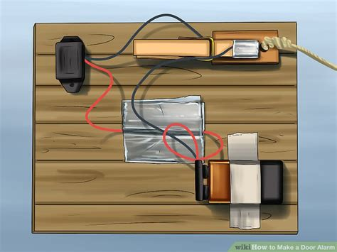 Make A Door by How To Make A Door Alarm With Pictures Wikihow