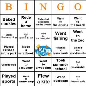 breaker bingo template day of school activities bingo is a great