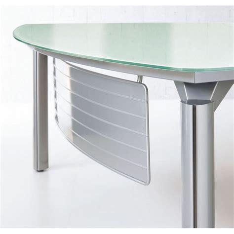 but bureau verre bureau en verre but des id 233 es pour le style de maison