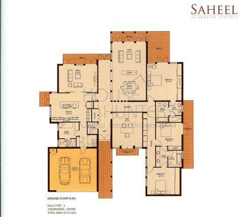 House Design Floor Plan Philippines Arabian Ranches Communities