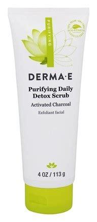 Derma E Purifying Detox Scrub by Buy Derma E Purifying Daily Detox Scrub 4 Oz At