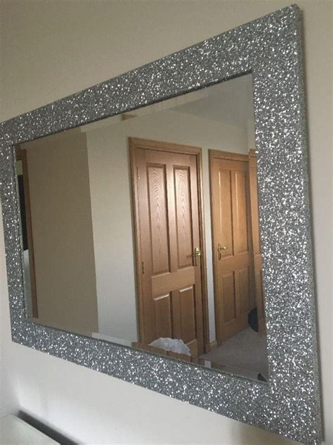 in framed 20 collection of glitter frame mirror mirror ideas