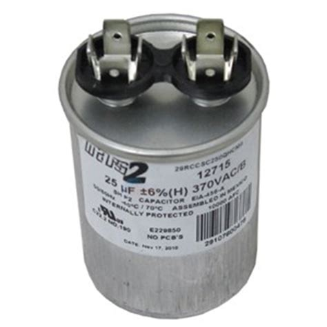 jandy pool motor capacitor ao smith replacement capacitor 25mfd 370v 628318 307 inyopools