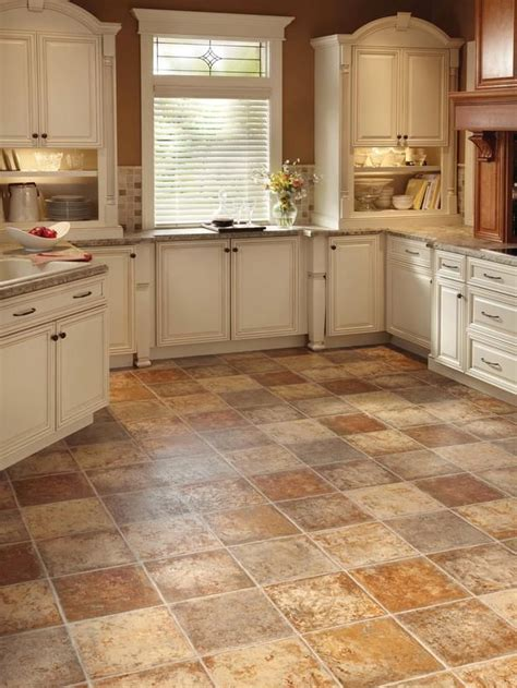 tile ideas for kitchen floors best 25 vinyl flooring kitchen ideas on