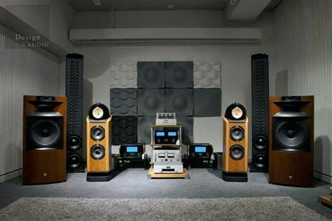 room sound system high end audio audiophile listening room design