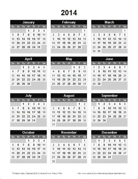 free yearly calendar template free printable calendar printable monthly calendars