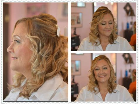 half up half down hairstyles mother of the bride mother of the bride hair wedding hairstyles half up half