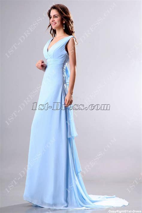 light blue evening dress light blue v neckline formal evening gown with 1st