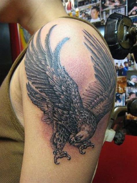 tattoo shoulder eagle stunning left shoulder eagle tattoo