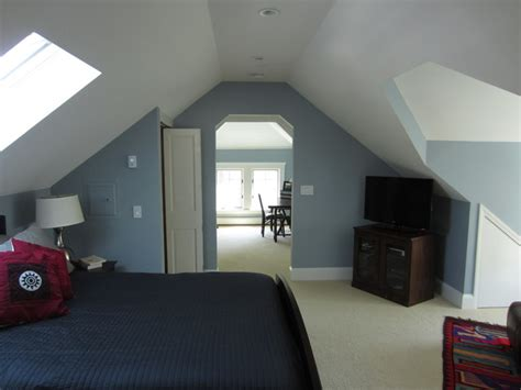 Traditional Master Bedroom - attic addition master suite traditional bedroom boston by christopher barry architect