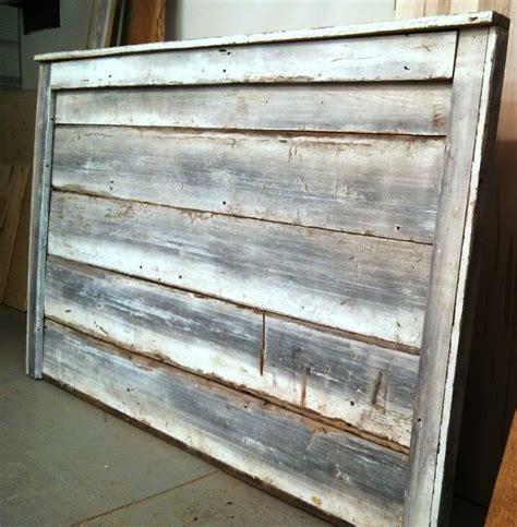 Barn Board Headboard by Whitewash Reclaimed Barn Board Headboard Custom Made By