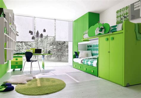 green glass room modern green room with study desk and glass wall