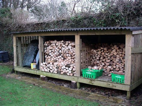 firewood storage shed building plans home town bowie
