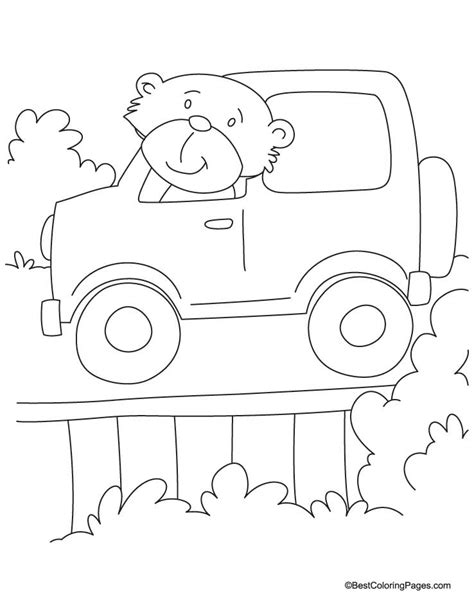 coloring pages for jeep jeep coloring page coloring home