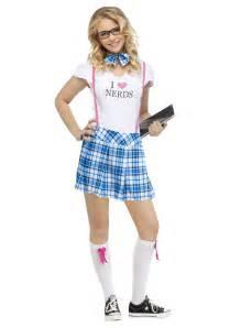 Nerd Costume I Love Nerds Costume For Teens