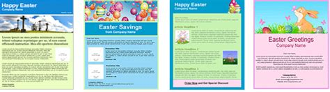 easter email templates easter email marketing templates