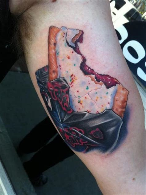 arm realistic cake tattoo by mike devries tattoos