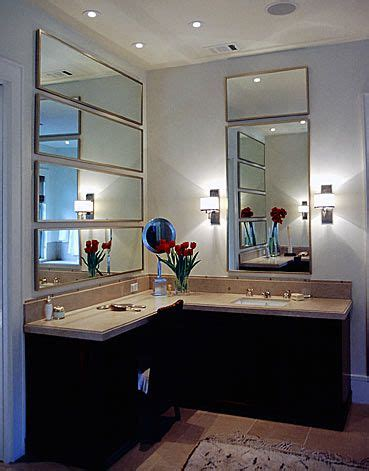 Bathroom Vanity Mirror Placement Erin Martin Design Positioning Of Sinks Bathrooms