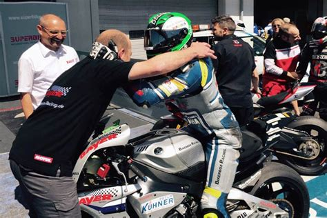 Motorrad Bayer Jakob by Marvin Fritz Mit Yamaha Yzf R6 Weiter In F 252 Hrung