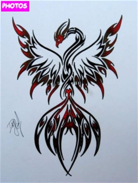 phoenix rising from ashes tattoo designs rising