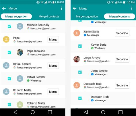 android merge contacts how to merge and remove duplicate contacts in android techspot