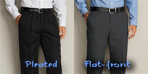 Flat Front Dress pleated or flat front dress si pant