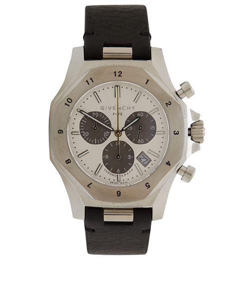 Silver Chrono Aktif 1 lyst givenchy silver five 45 chronograph in