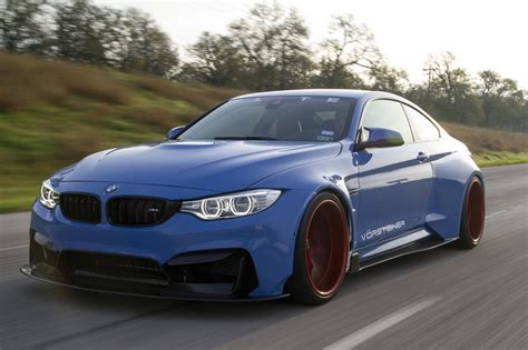 bmw m4 widebody vorsteiner widebody bmw m4 in yas marina blue oc 2048 x