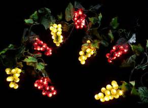 grape lights and green grape string lights 8 clusters 32 lights