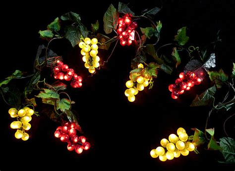sukkah fruit lights