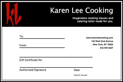 cooking certificate template best resumes