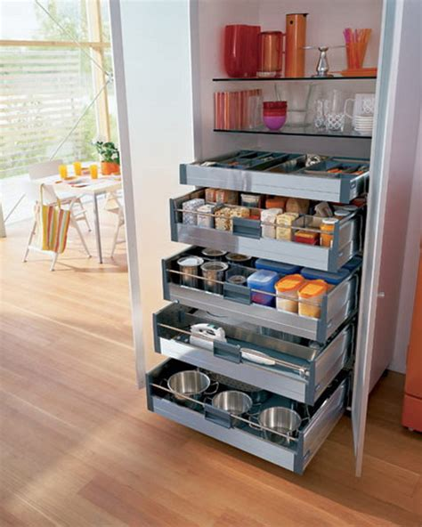 unique kitchen storage ideas pull out pantry shelves great idea for a small space