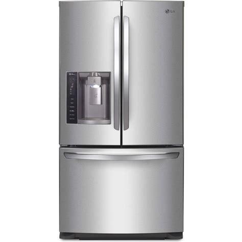 lowes lg refrigerator doors lg appliances lfx28968st 27 6 cu ft door