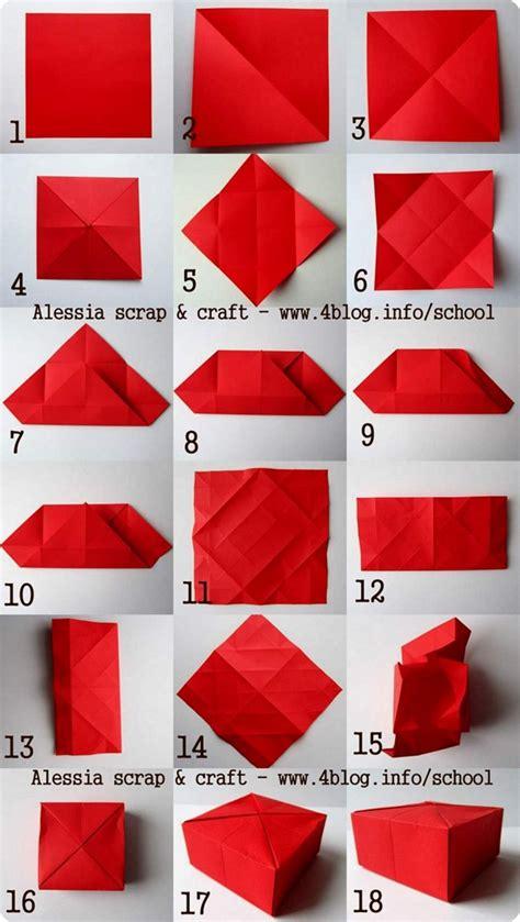 tutorial origami zucca gift box scatoline regalo fatte ad origami alessia