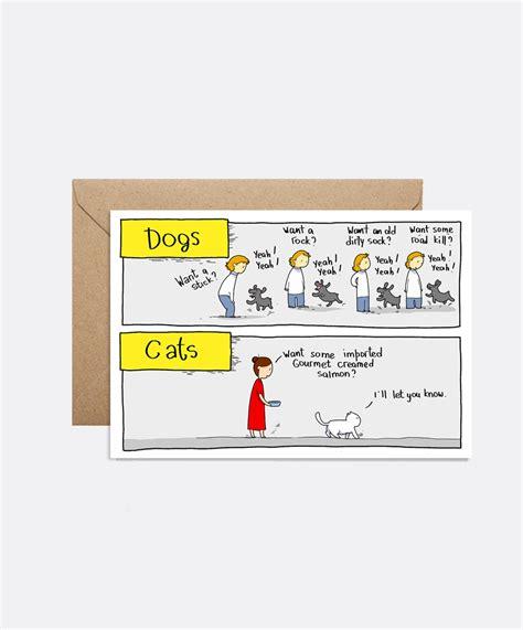 doodle vs calendar dogs vs cats card lingvistov