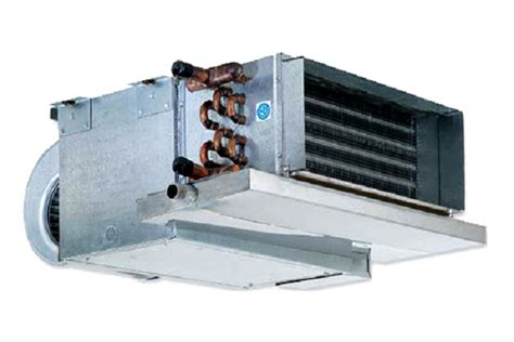 fan coil unit with electric heater horizontal low profile fan coil units york