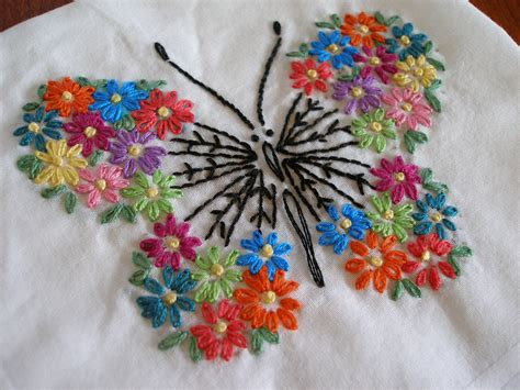 free butterfly hand embroidery butterfly butterfly embroidery and hand embroidery