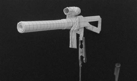 How To Make A Origami Gun - origami guns submachine gun by solidmark on deviantart